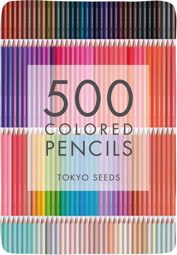 500 COLORED PENCILS TOKYO SEEDS width=