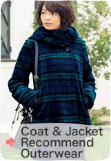 Coat & Jacket Recommend Outerwear Collection