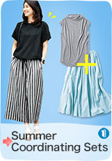 No need to worry anymore! Summer Coordinating Sets