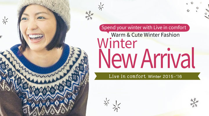 Live in comfort Winter New Arrival