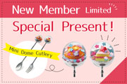 New Member Spring Limited Special Present!
