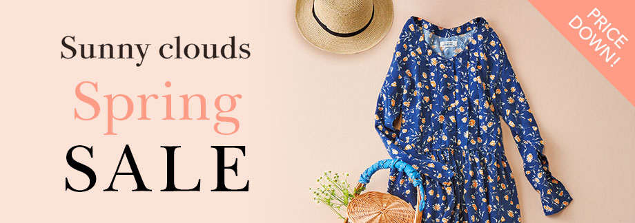 Sunny clouds SPRING SALE